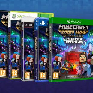Minecraft: Story Mode – The Complete Adventure se lanzará en formato físico en octubre