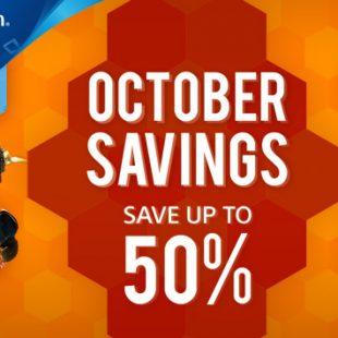 Llegan nuevos descuentos especiales de octubre de hasta el 50% en PlayStation Store