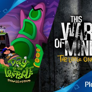 Actualización PlayStation Plus – Enero 2017 | This War of Mine: The Little Ones, Day of the Tentacle y más
