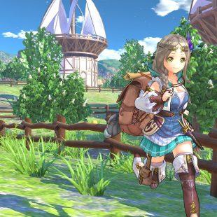 Los bonitos escenarios y localizaciones de Atelier Firis protagonizan su nuevo tráiler