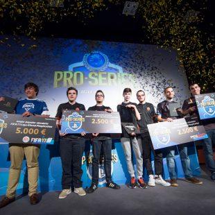 Ganadores y resultados finales de las PRO SERIES de la Liga Oficial PlayStation