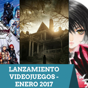 Lanzamiento Videojuegos Enero 2017