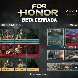 Arranca la beta cerrada de For Honor y permanecerá activa hasta el 30 de enero