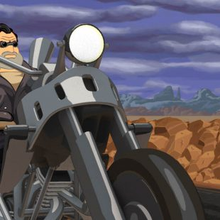 Full Throttle Remastered llegará el 18 de abril a PlayStation 4 y PS Vita