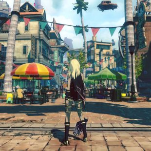 Exploramos el hermoso mundo de Gravity Rush 2 en 9 minutos de puro gameplay