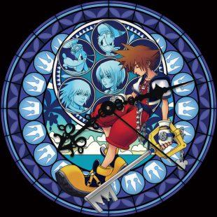 Un reloj de Kingdom Hearts se expone en la estación de Shinjuku