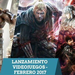 Lanzamiento Videojuegos Febrero 2017