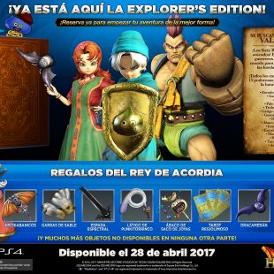 El increíble mundo de Dragon Quest Heroes II en un nuevo tráiler   Anunciada la Explorer's Edition