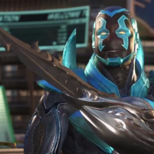 Injustice 2   Blue Beetle muestra sus habilidades en un impresionante gameplay