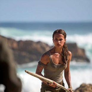 Nuevas imágenes de Alicia Vikander como Lara Croft para el nuevo film de Tomb Raider
