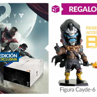 La edición coleccionista de Destiny 2 será exclusiva de GAME y confirmados los extras por reserva