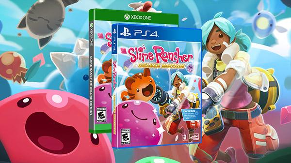 Slime Rancher Deluxe Edition Llegará El 26 De Mayo Para Xbox One Y Playstation 4 Regionplaystation